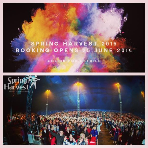 Spring Harvest 2015 Booked!