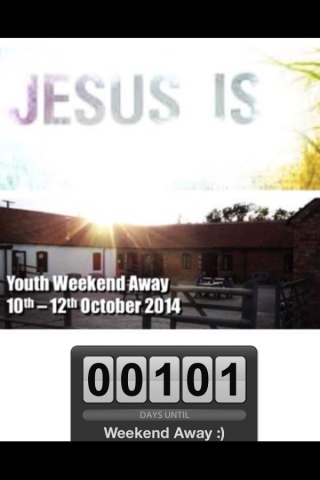 101 Days Until Our Youth Weekend Away :)